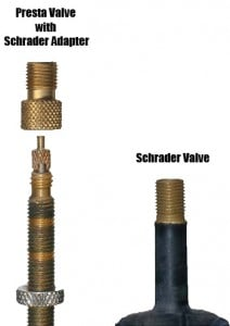 Schrader Valves vs Presta Valves, Whats the difference?