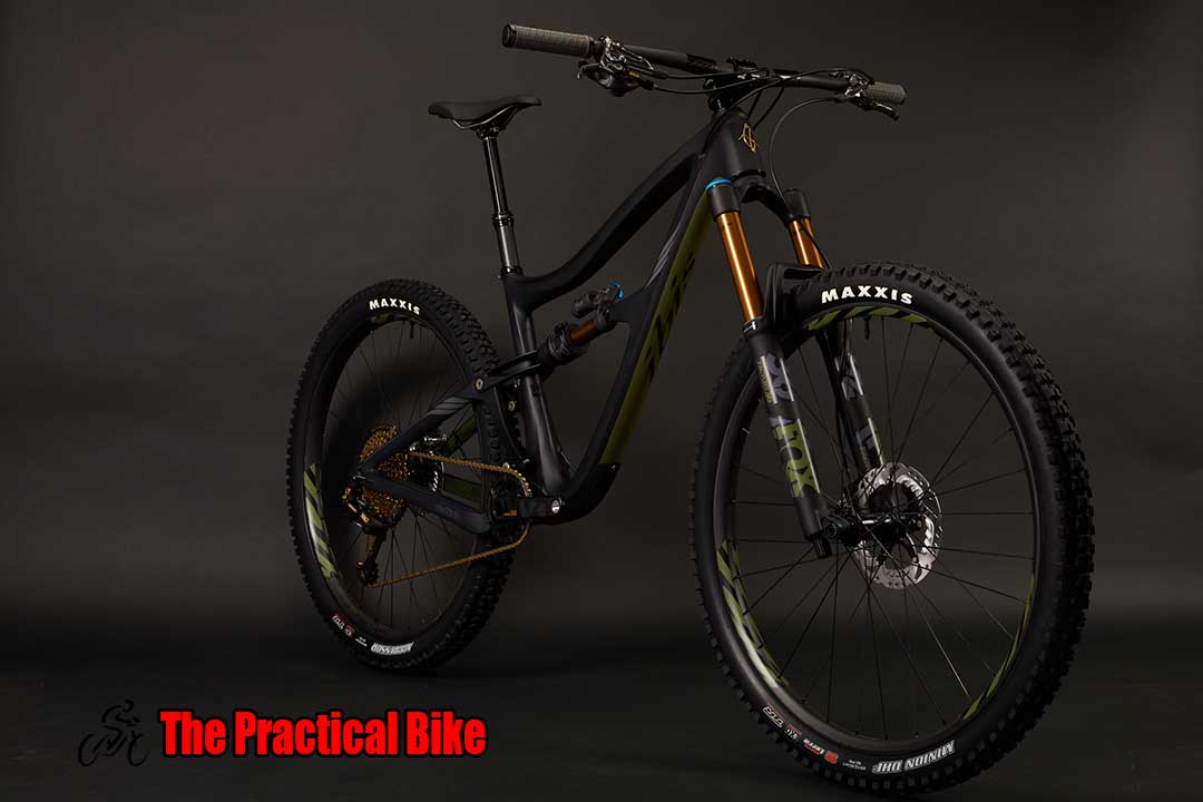 Picture of an Ibis RipMo XX1 Black Mountain Bike