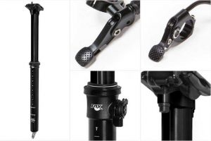 Fox Transfer Dropper Seatpost Anodized