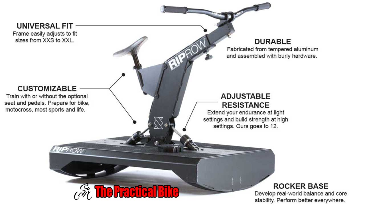 Picture of a RIPROW Mountain Bike Trainer